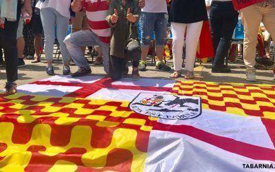 10.000 barceloneses reclamarán el 12 de octubre una consulta para salir de Cataluña