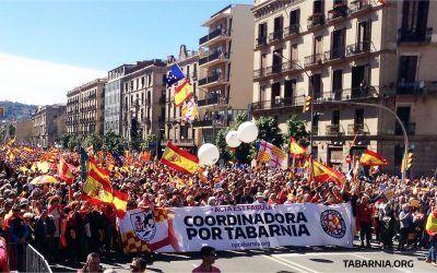 Tabarnia se une a la manifestación del 18 de marzo