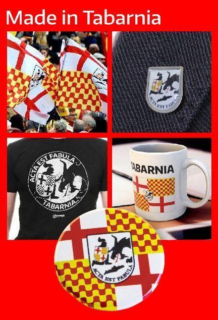 Regalos, bandera, camiseta, pin. pulsera, taza, DNi, merchandising de Tabarnia.