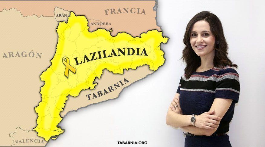 Inés Arrimadas se hace eco de una propuesta de Tabarnia en un mitin de Valls