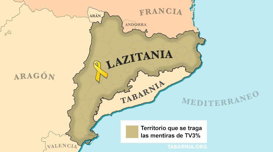Después de Tabarnia llega: LAZITANIA
