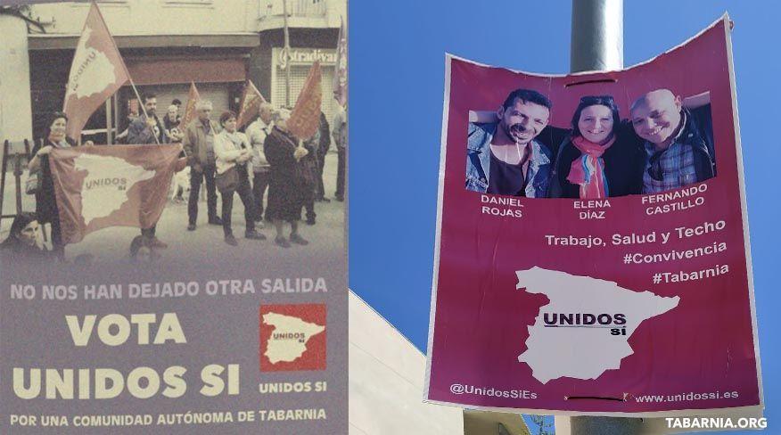 UNIDOS SI, partido por Tabarnia.