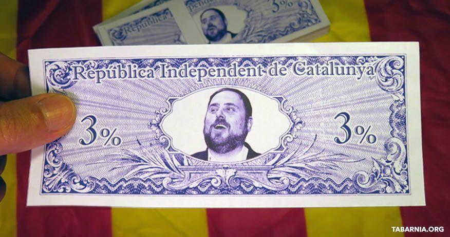 Dinero de la República Catalana.