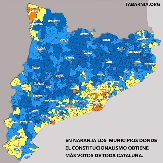 El constitucionalismo en Cataluña.