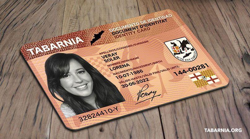 Ya se puede adquirir el Documento Regional de Identidad de Tabarnia, el «DNI de Tabarnia»