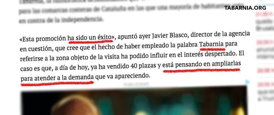 El Periódico de Aragón. Tabarnia.