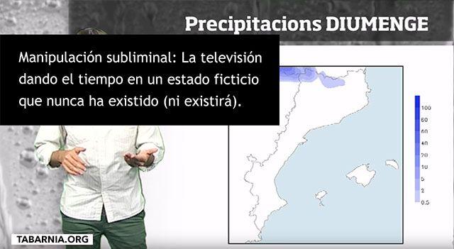 Manipulación de la televisión catalana.