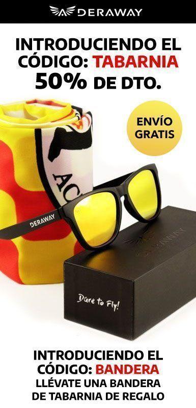 Oferta de gafas de sol baratas polarizadas de Amigos de Tabarnia.