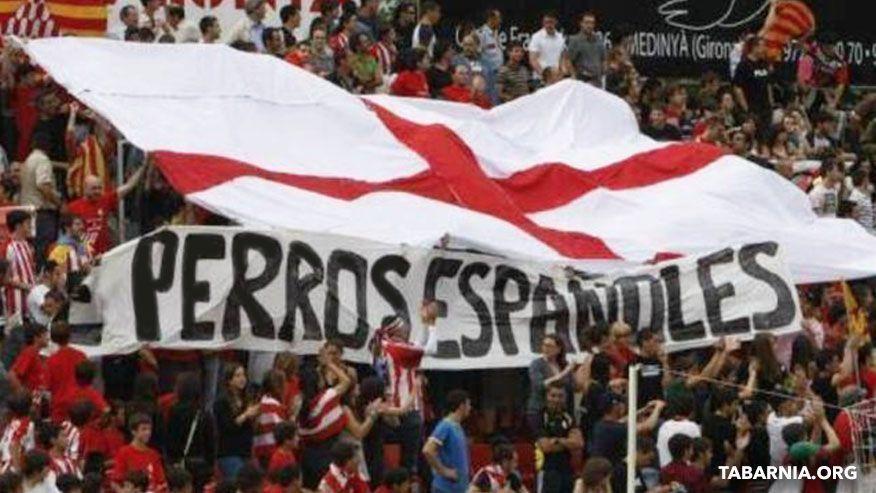 Afición de Girona. Tabarnia.