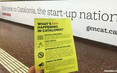 La Generalitat hace propaganda contra España en el Mobile World Congress