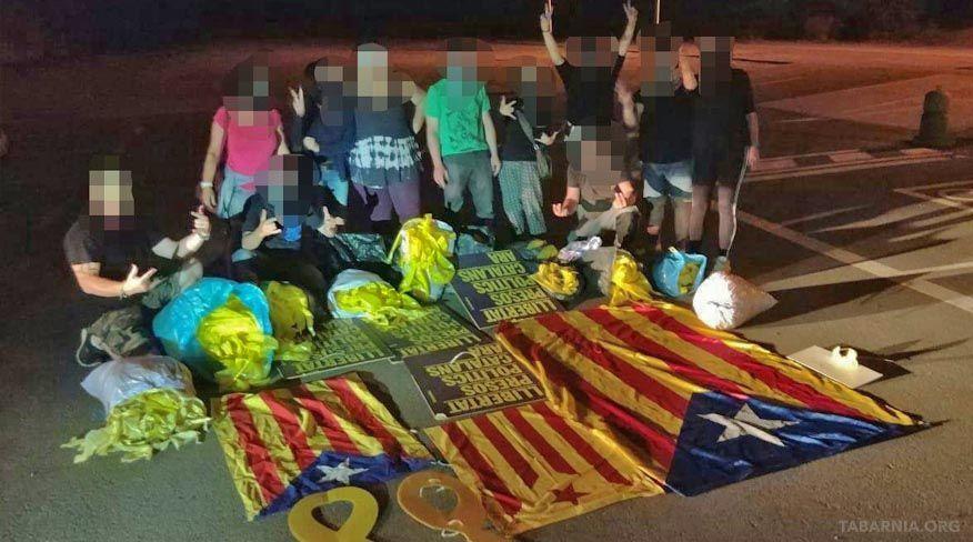 Resistencia Alta Tabarnia en acción.