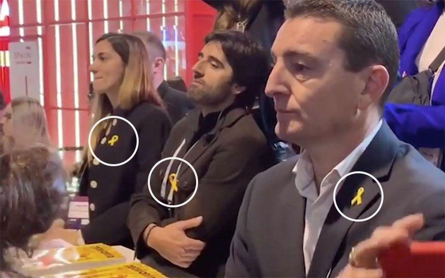 Stand de Cataluña en el mobile.