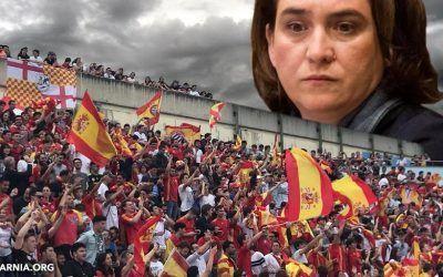 Ada Colau prohibe ver a la Selección Española en Barcelona